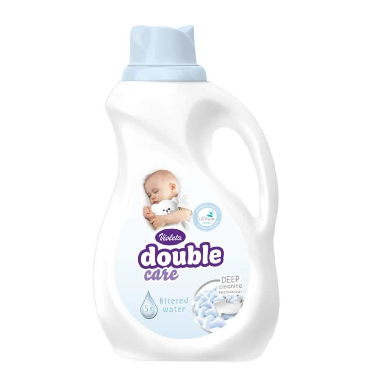 Double Care - Clean & Gentle deterdžent 1l