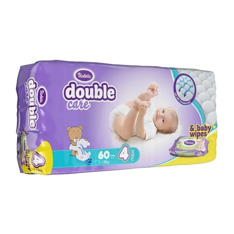 Violeta Double Care Air Dry pelene maxi jumbo 7-18kg