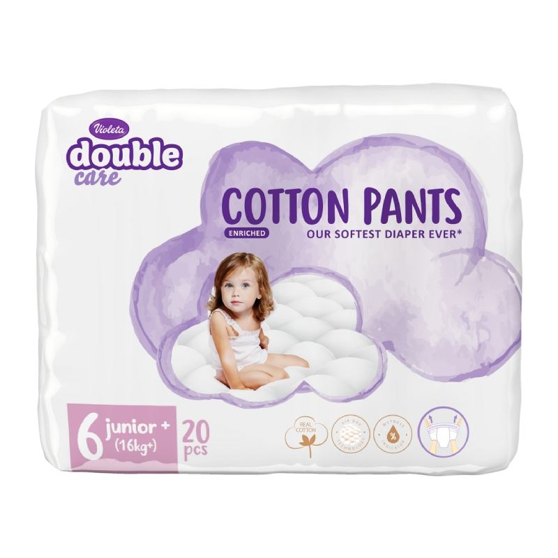 Violeta Double Care Cotton Pants pelene junior 16