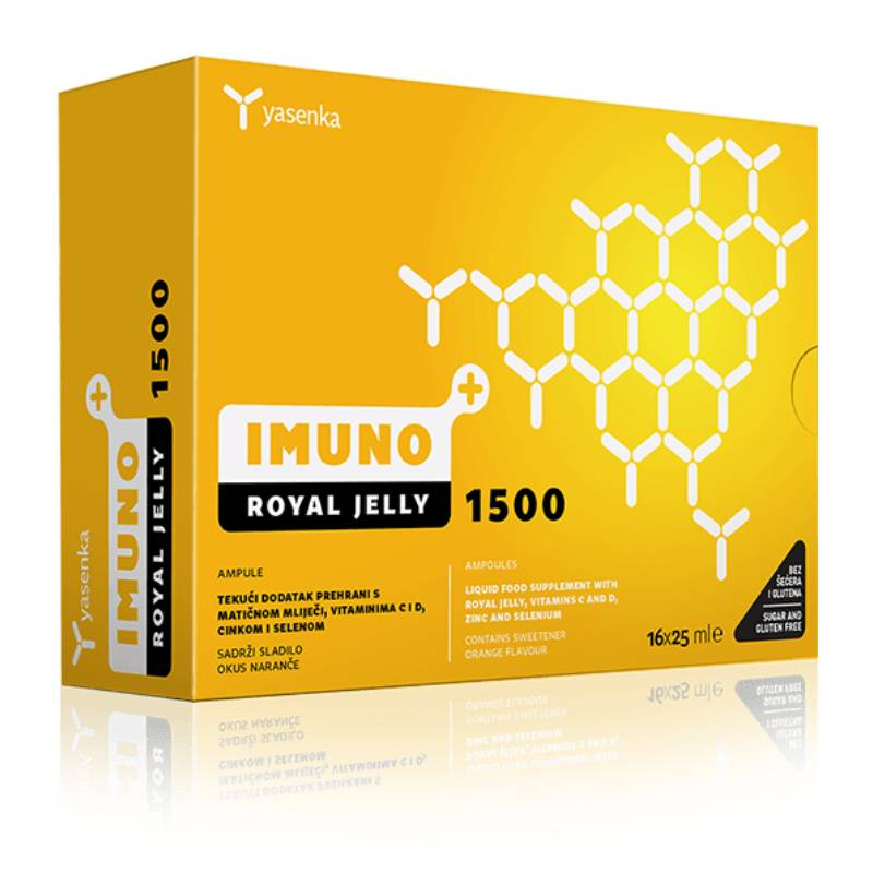 Yasenka Imuno ROYAL JELLY 1500