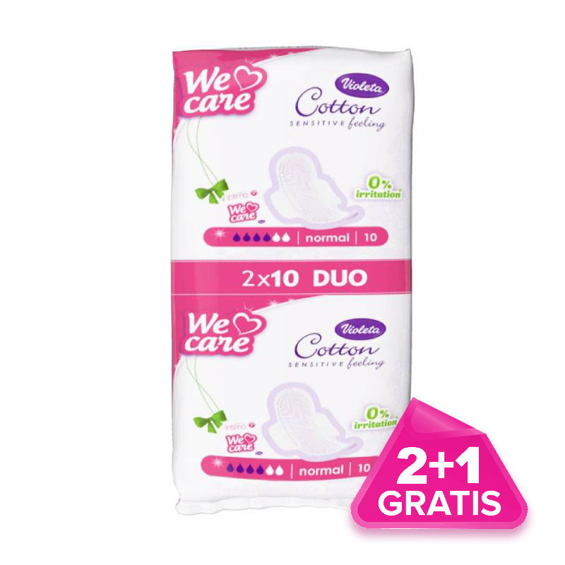 Violeta-We-Care-Cotton-normal-higijenski-ulosci-20-kom