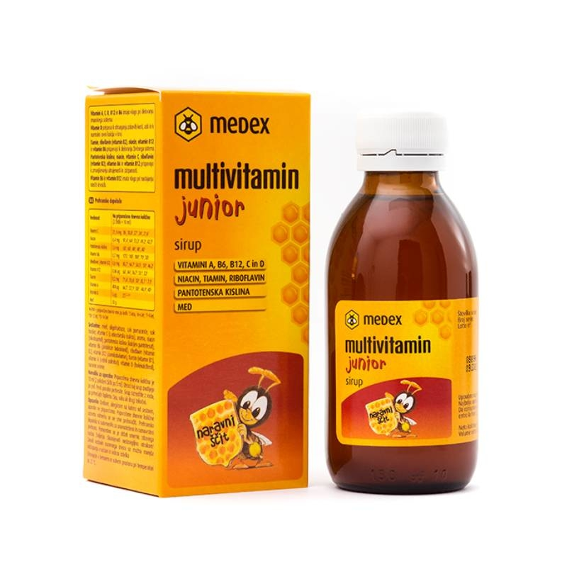 Medex Multivitamin junior sirup 150 ml
