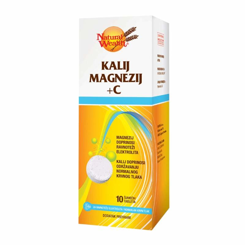 Natural Wealth Kalij Magnezij + C