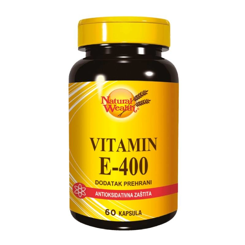 Natural Wealth Vitamin E-400