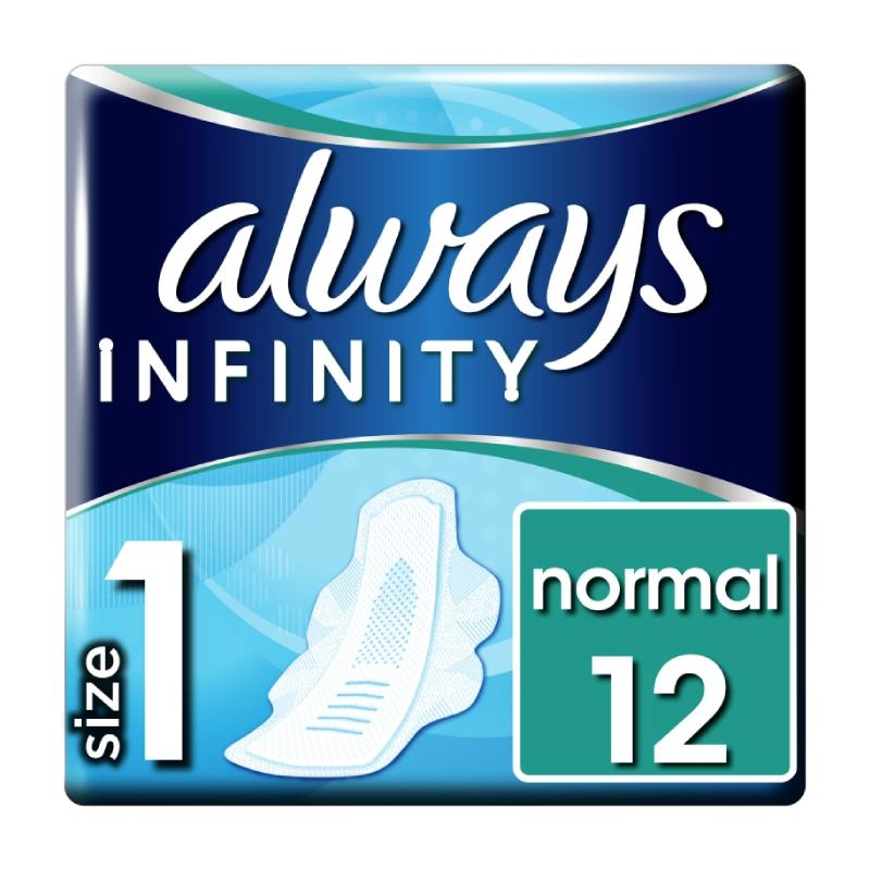 Always Infinity Normal higijenski ulošci 12 komada