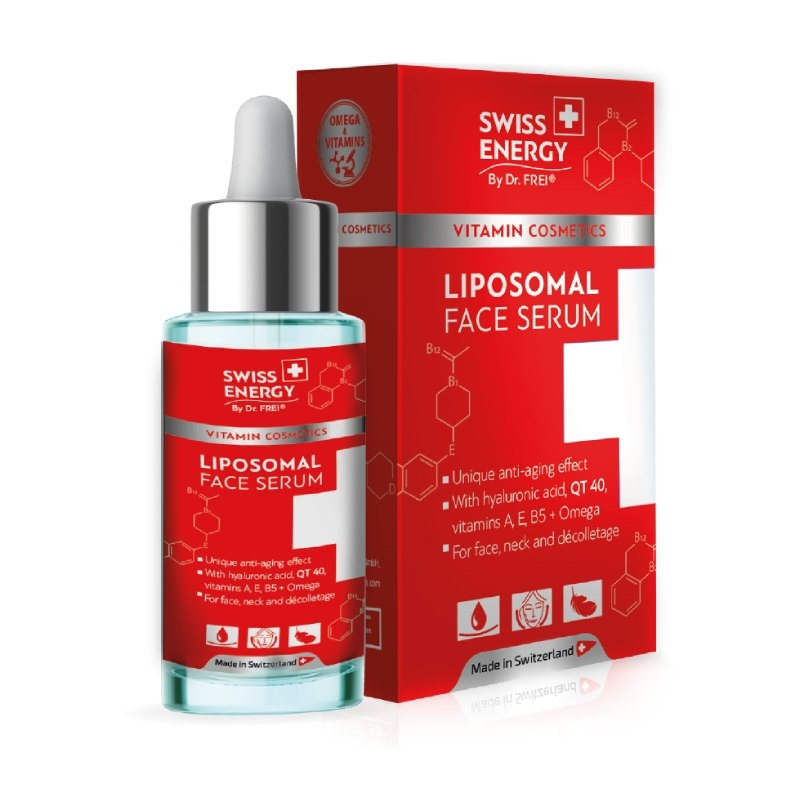 Swiss Energy – liposomalni serum za lice, 30 ml